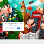 12 Creative 404 Error Page Designs