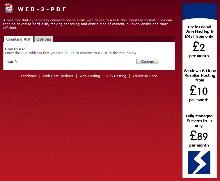 convert your website to pdf