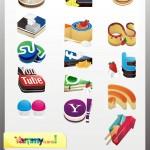 10 Free High Quality Social Media Icon Sets