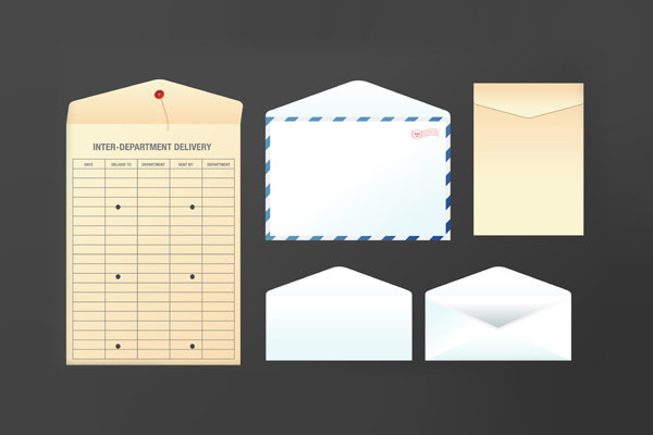 25-envelope-icon-set