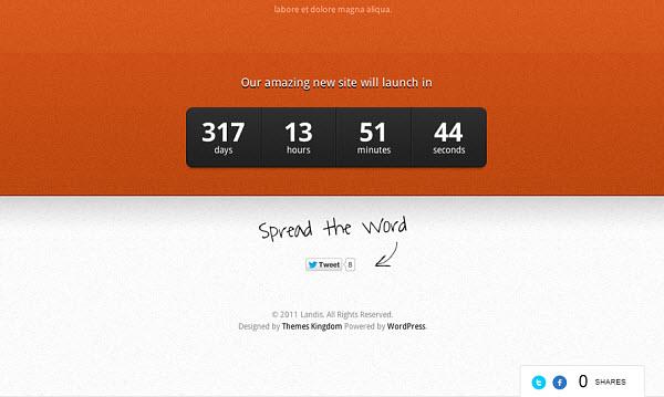 landis-wordpress-theme