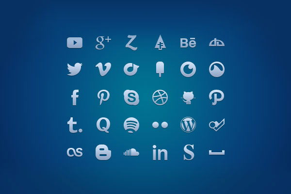 multi-format-social-media-glyph-set
