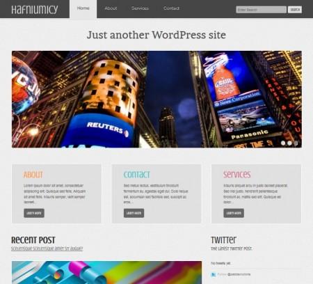 Hafniumicy free business wordpress themes