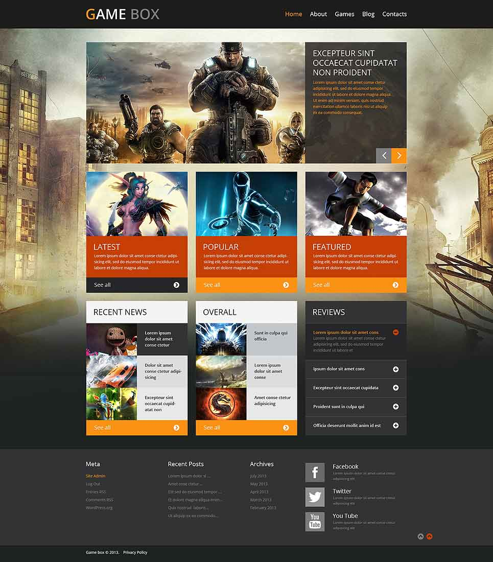 gamebox-gaming-wordpress-theme
