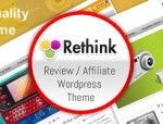rethink wordpress theme
