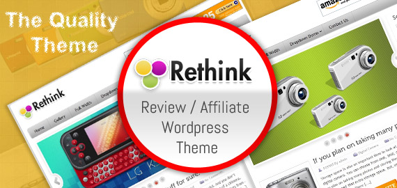 rethink wordpress theme