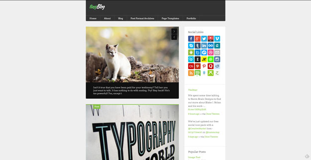 tinyblog wordpress theme