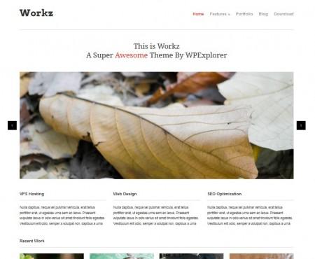 workz business wordpress theme