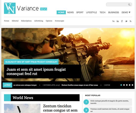 variance-theme