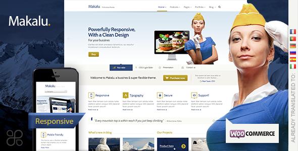 makalu wordpress theme