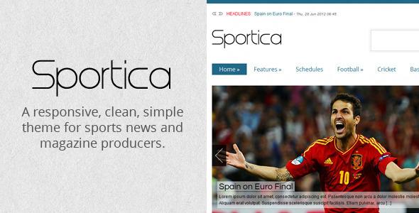 sportica wordpress theme