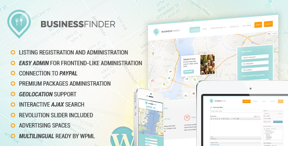 business finder wordpress theme