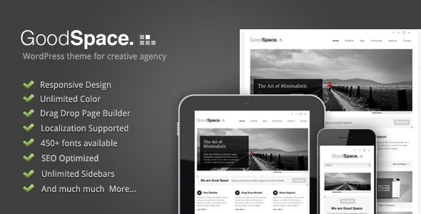 goodspace wordpress theme