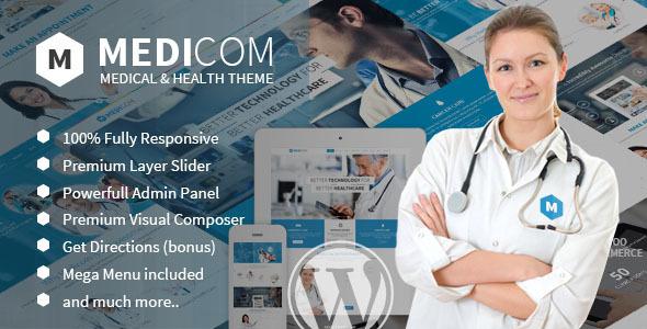 medicom wordpress theme
