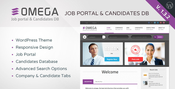 omega wordpress theme