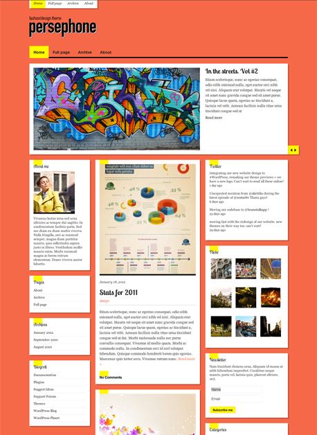 persephone wordpress theme