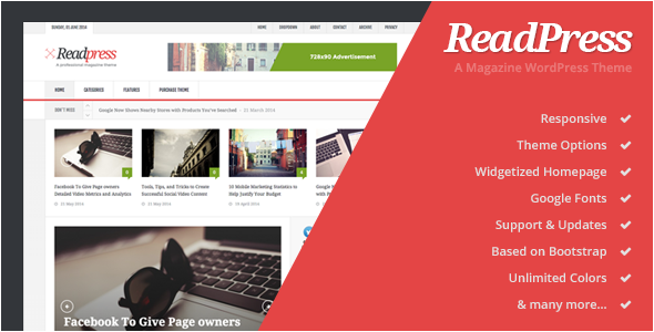 cheap magazine wordpress theme