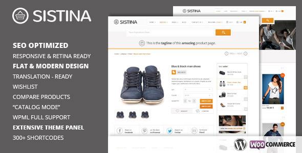 sistina wordpress theme