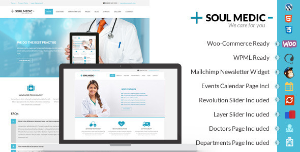 soulmedic wordpress theme