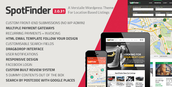 spotfinder wordpress theme