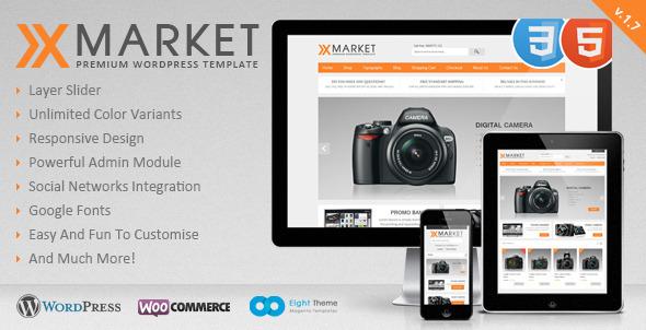ecommerce wordpress templates