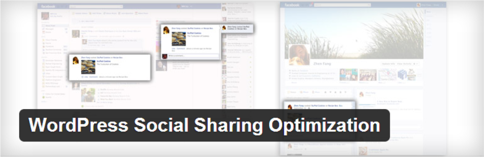 wp social optimization