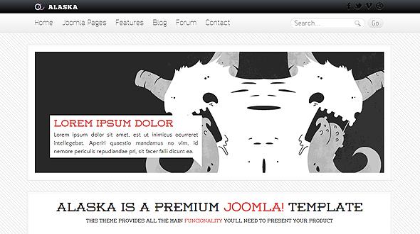 alaska-joomla-template