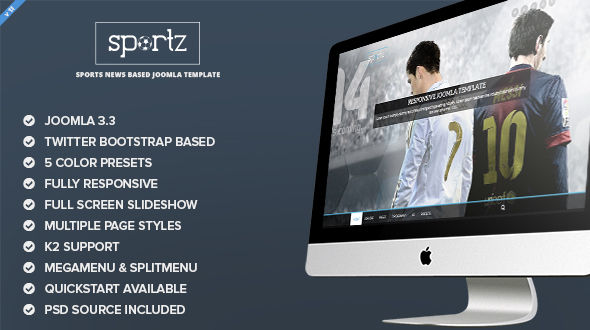 sportz-joomla-template