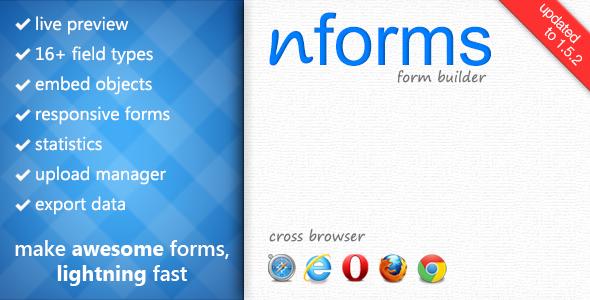 nforms-form-builder-wordpress-plugin