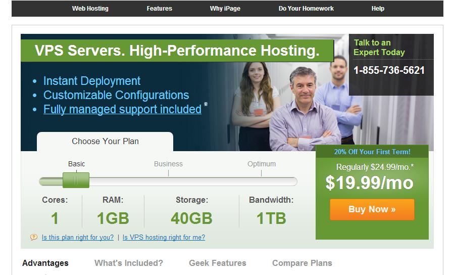 ipage-vps-hosting