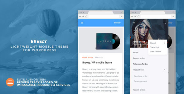breezy-mobile-wordpress-theme