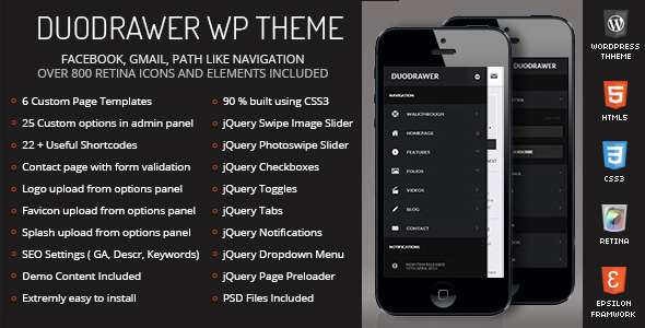 duodrawer-mobile-theme-wordpress