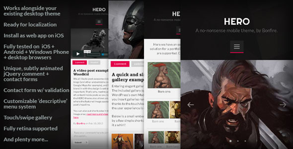 hero-mobile-wordpress-theme
