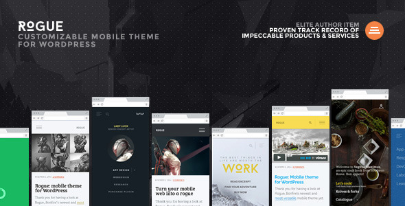 rouge-mobile-wordpress-theme
