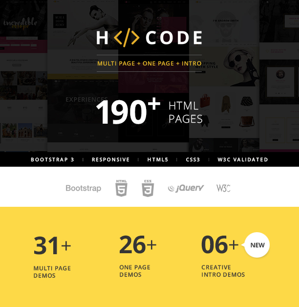h-code-html-template