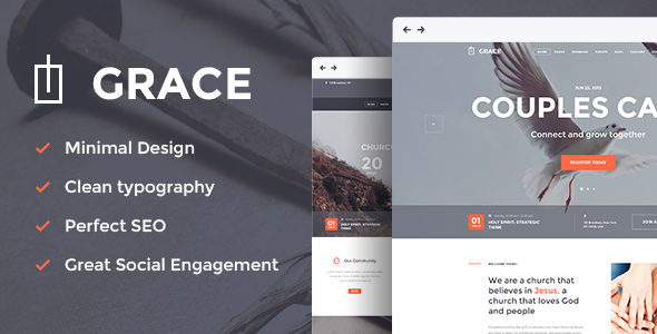 grace church wordpress theme
