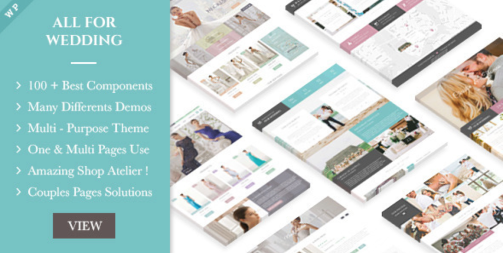 wedding industry multipurpose wp theme