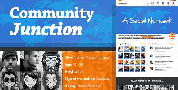 community junction social theme