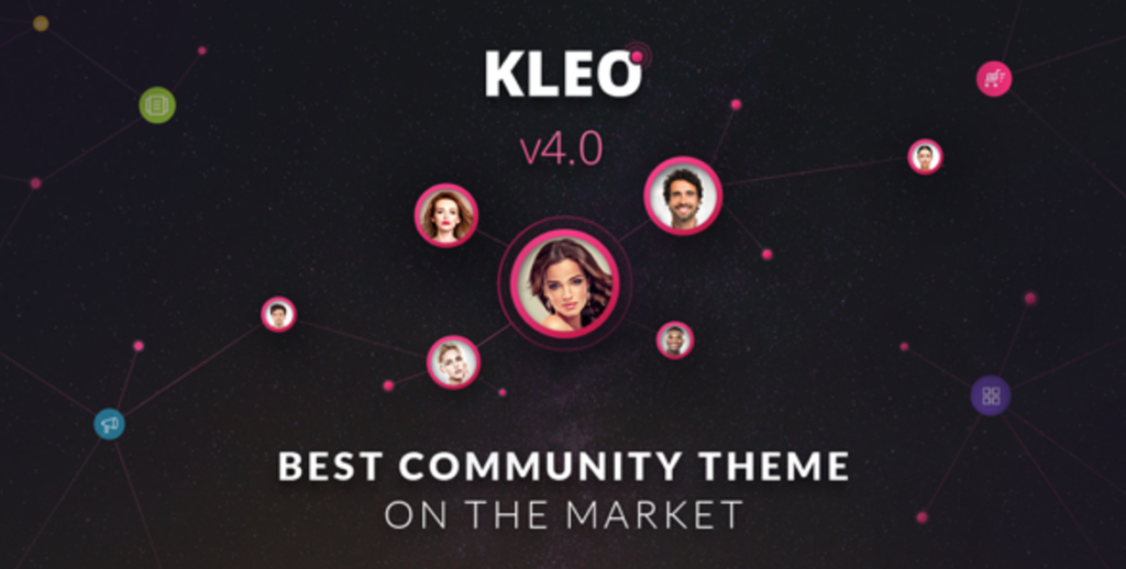 kleo social wordpress theme