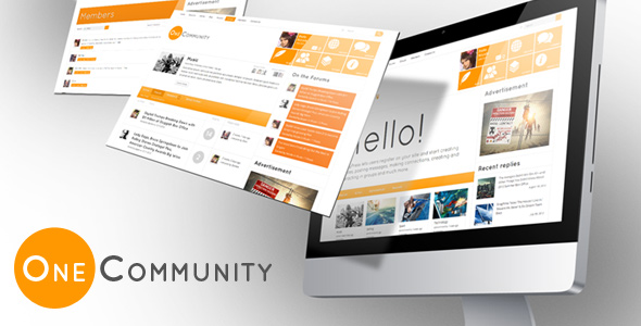 one community wordpress theme