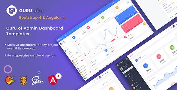 guru able angular 2 template web