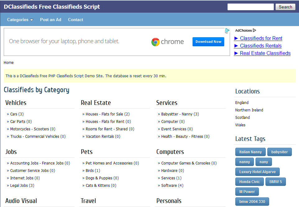 dclassifieds-frontend