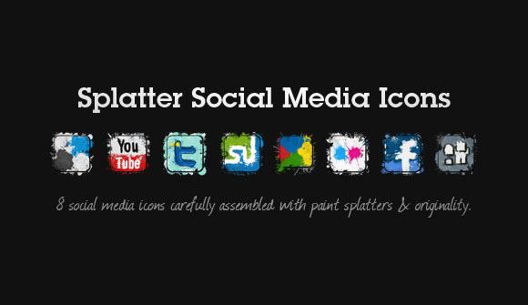 splatter-icon-set