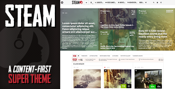 steam-wordpress-theme