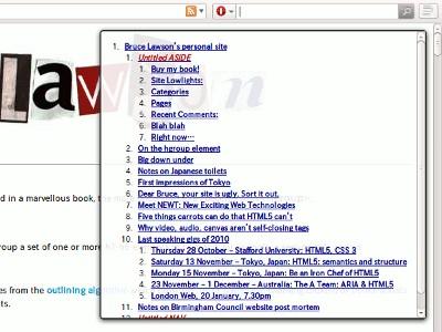 HTML5Outliner