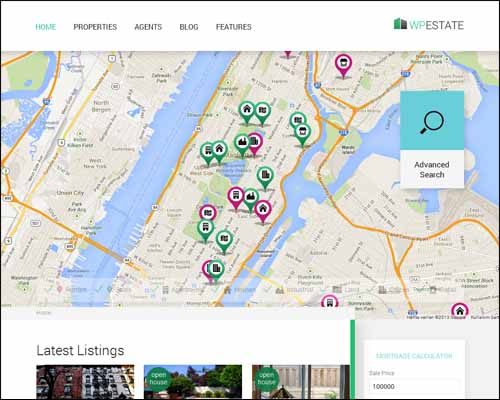 best and latest real estate wordpress themes