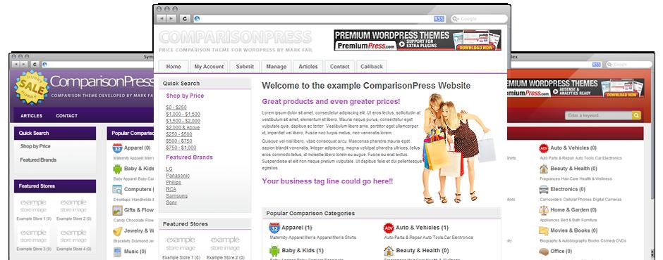 comparisonpress wp theme