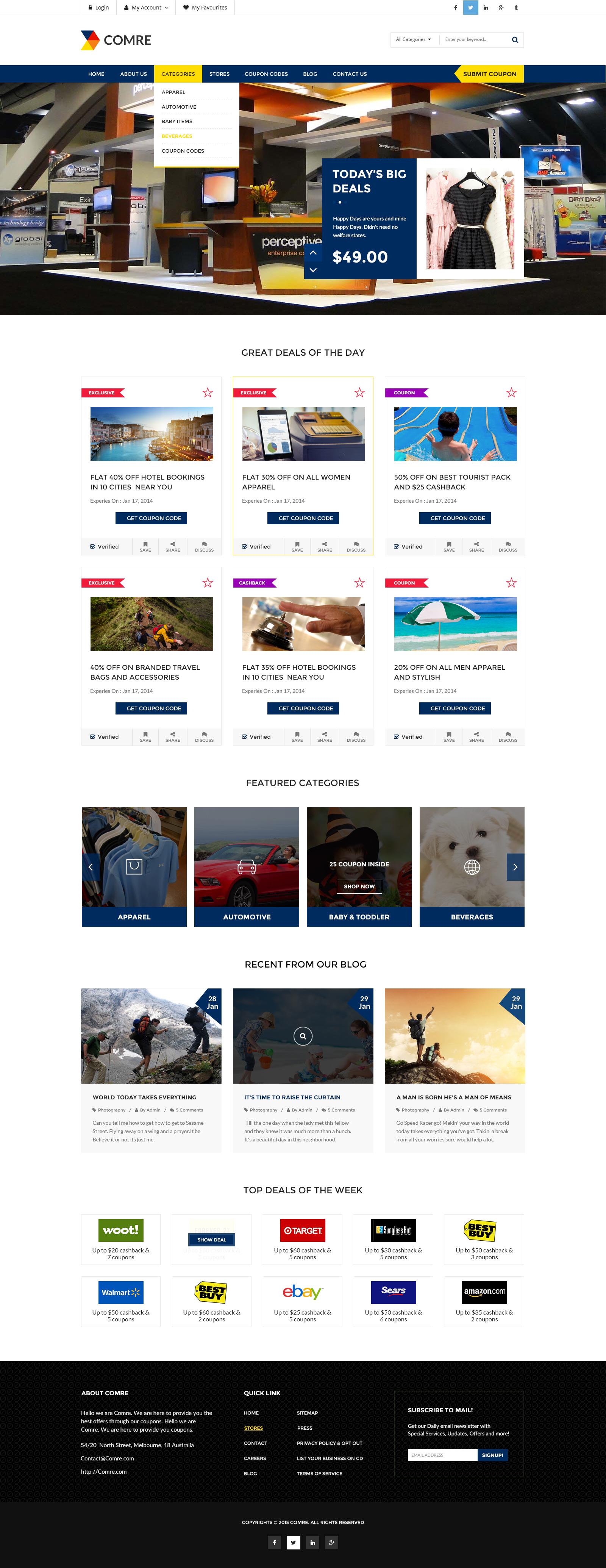 coupon affiliate wordpress theme