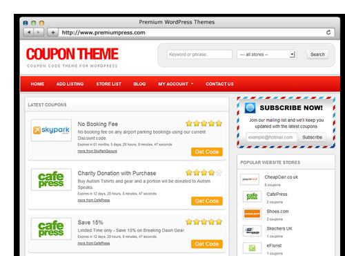 affiliate coupon wordpress theme