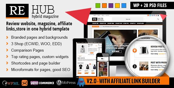 affiliate wordpress theme